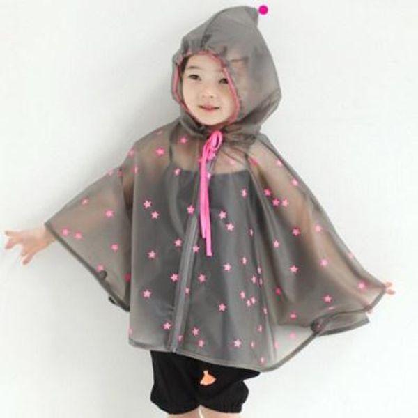 Cute Impermeable Kids Rain Coat Children Raincoat Rainwear/Rainsuit,Kids Waterproof Animal Raincoat Student Poncho Rain Gear