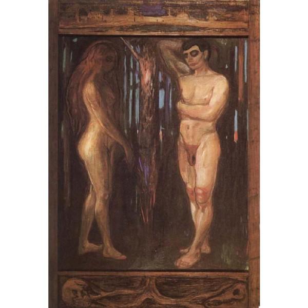 Edvard Munch resimlerinde Metabolizma-l-tuval üzerine modern sanat yağlıboya El Yapımı sanat Hediye