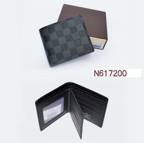 X8 L Negro Chequeado billetera con páginas