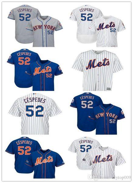 new arrivals 6c51a 432df 2019 Men'S Mets 52 Yoenis Cespedes New York Royal Alternate Cool Base  Player Women Kids Jersey From Newlife008, $22.33 | DHgate.Com