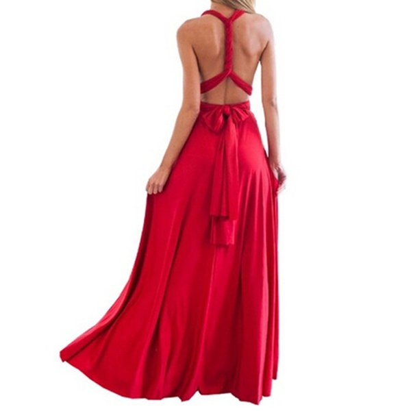 Women Dress Long Summer Bohemian Dresses Casual Bandage Evening Prom Club Party Infinity Multiway Maxi Dresses designer clothes