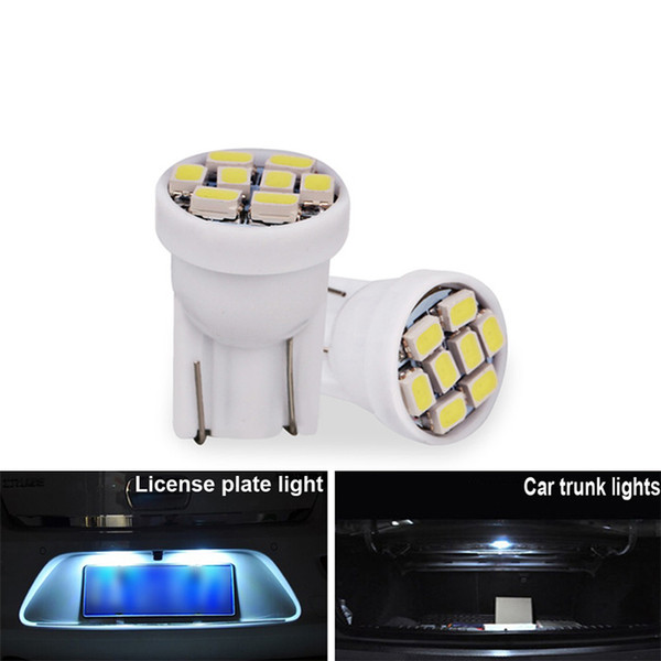 Luz UNIDS Super W5W Interior Matrícula Compre 100 Del Bombilla 12V De T10 Techo Liquidación Automática De Placa Blanca Coche Brihgt LED RjL5Aq4c3