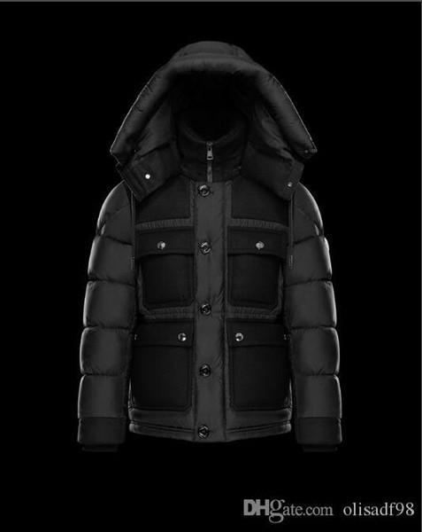 Gros Hommes Casual Down Jacket MAYA Doudoune Mens Outdoor anorak veste d'hiver Manteau d'hiver outwear usure extérieure veste en duvet Gooes 564265