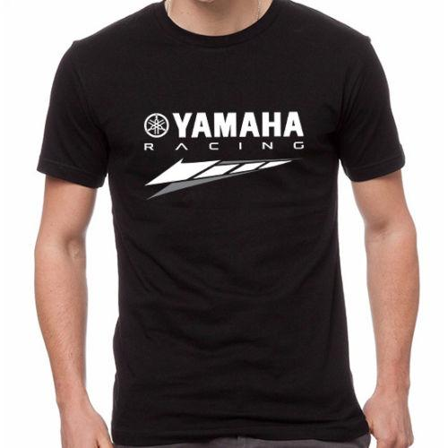 Yamaha için yeni Motosiklet Motosiklet Biker Rider Spor T-Shirt Yüksek Kaliteli T-Shirt yaz dfs için
