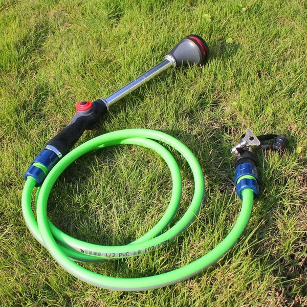 top popular Garden Spraying Gun Flower Plants Watering Sprinkler 8 Patten Irrigation House Cleaning ToolsIt gives you a firm and comfortable grip. 2021