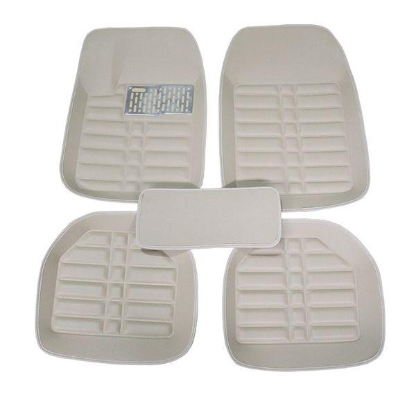 DHL бесплатная доставка 5 шт. Автомобильные коврики для ног коврики для автомобиля левый руль tappetini универсальный honda audi bmw toyota nissan