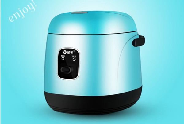 best selling 1.2L Mini electric Rice Cooker 220V Household Student Dormitory Cooking Portable cooking pot for Business traveler working single people 020