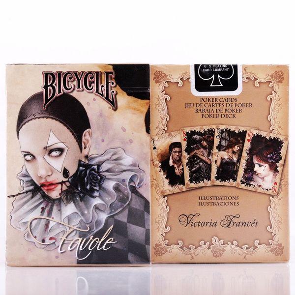 Vélo Favole Cartes à jouer Vampire Deck Poker Cartes USPCC Custom Limited Edition Magic Close Up Tours de magie Props pour magicien