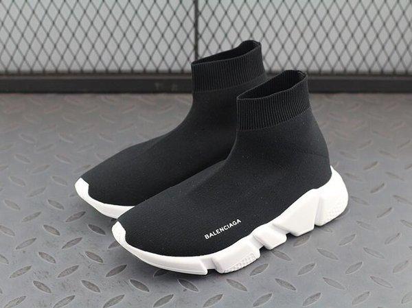 En Moda Yüksek Kalite Lüks Spor Ayakkabı Çorap Çizmeler Kadın Elastik Bez Marka Hız Trainer Sneakers Erkekler Hip Hop Tasarımcı Rahat ayakkabı