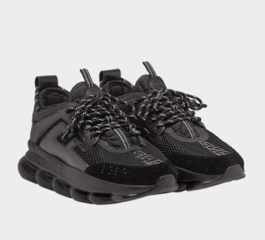 Nouveau Chain Reaction mens casual chaussures de sport formateurs chaussures de sport occasionnels baskets de designer en caoutchouc maillons liés légers
