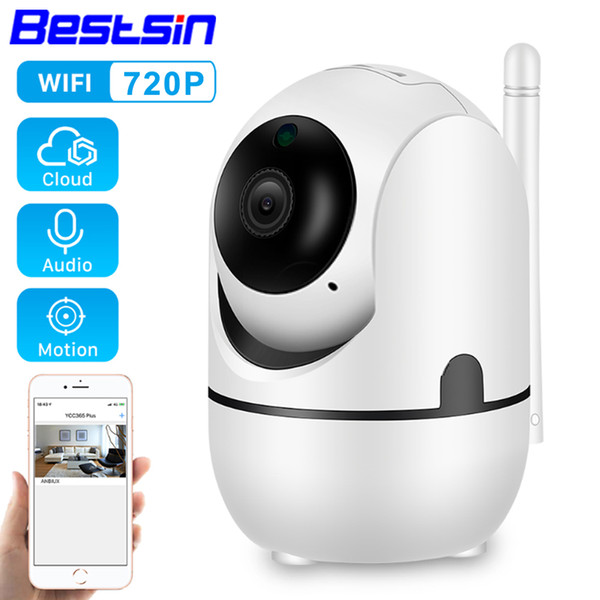 Bestsin HD 720 P Accueil caméra de sécurité Mini caméra IP Way Deux Audio Draadloze Nachtzicht CCTV caméra WiFi