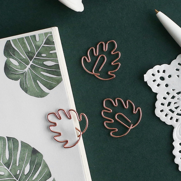 2019 Creative Paper Clip Plant Flower Journal Notebook Decoration Diy Lovely Bookmark Stationery School Office Supplies From Instrumenthome 35 01