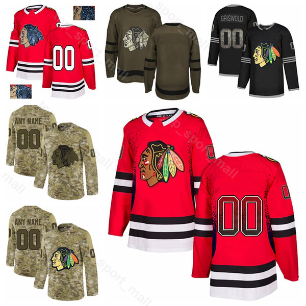 Jeune Homme Femme 28 Maillot Henri Jokiharju Chicago Blackhawks Hockey 8 Nick Schmaltz 16 Marcus Kruger 5 Connor Murphy Gradient Mode