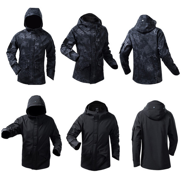 best selling Outdoor Sports Jungle Hunting Woodland BDU Shooting Coat Tactical Combat Clothing Camouflage Outdoor Hoody Softshell G8 Jacket P05-218