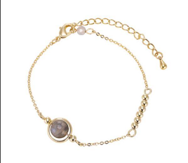 Bracelet Female Korea Contracted Bead head Adorn Article Pure Fresh Boudoir Honey Design