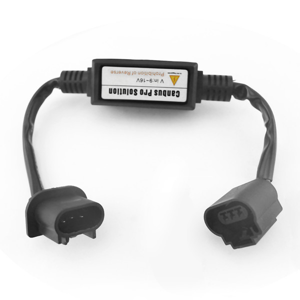 LEEWA 12V Car HID Xenon Warning Canceller Error Free Decoder for H13 High Low Beam HID Xenon Headlight #4302