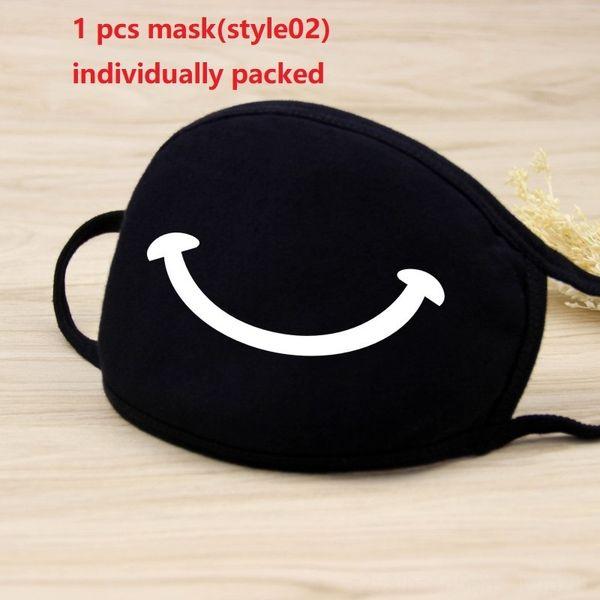 1pc máscara negro (style02)