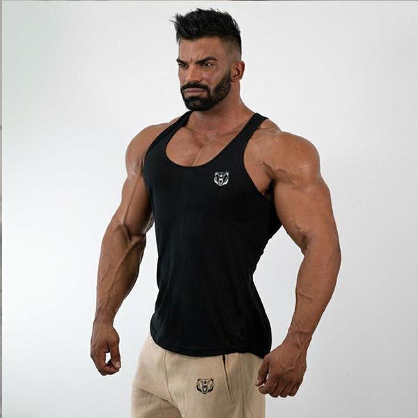 Undershirt Soft Vest Top Men Summer Black Short Sleeve Cotton Breathable Sport Running Fitness Gym Workout Casual Shorts T shirt