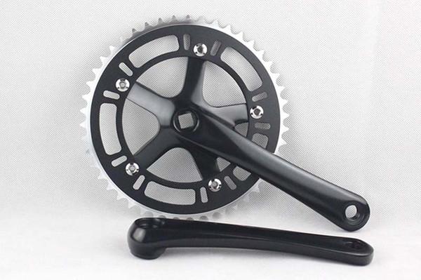 Fixed Gear 48T Crank Set Bike Bicycle Aluminum Chainwheel Alloy Crank Set Sprocket Crankset Free Shipping