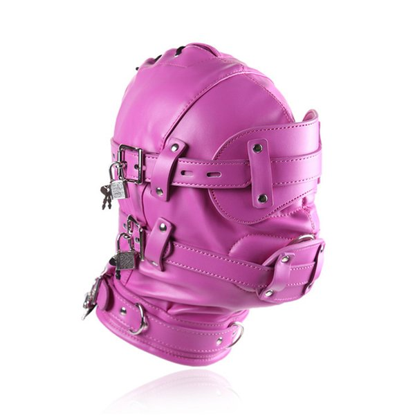 Pink Headgear with Dildos