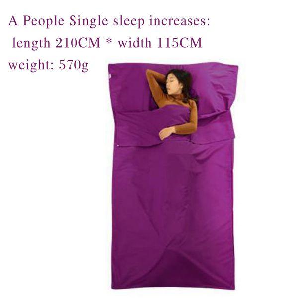 #9 single increase /purple/ 210*115cm