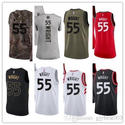 on sale df13c c4b5b 2019 Custom Best 2018 Basketball Wear Men'S Toronto Raptor#55 Delon Wright  Yellow Jersey City Edition Basketball Jerseys From Gjybest005, $18.1 | ...