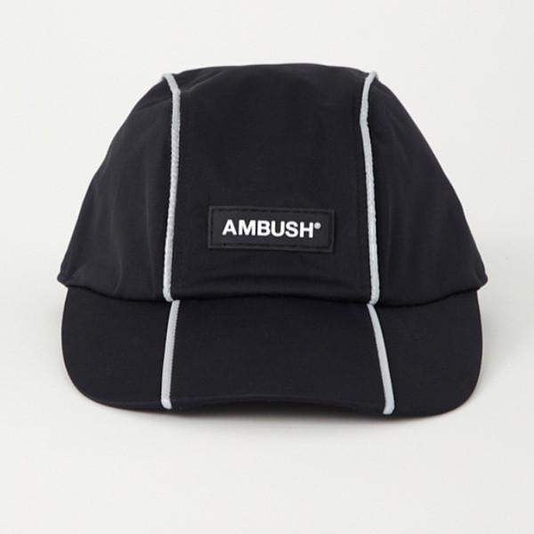 19SS AMBUSH REFLECTOR CAP Fashion Logo Hat Cap Street Travel Sunhat Fishing Casual Sun Hat Summe Outdoor Sports Hats HFYMMZ018