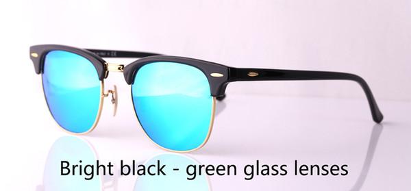 verde negro brillante