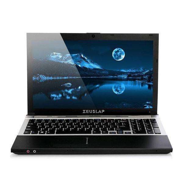 15.6inch intel i7 CPU 8GB Ram+500GB HDD 1920x1080 screen DVD Rom WIFI bluetooth Windows 10 System Notebook Laptop Computer