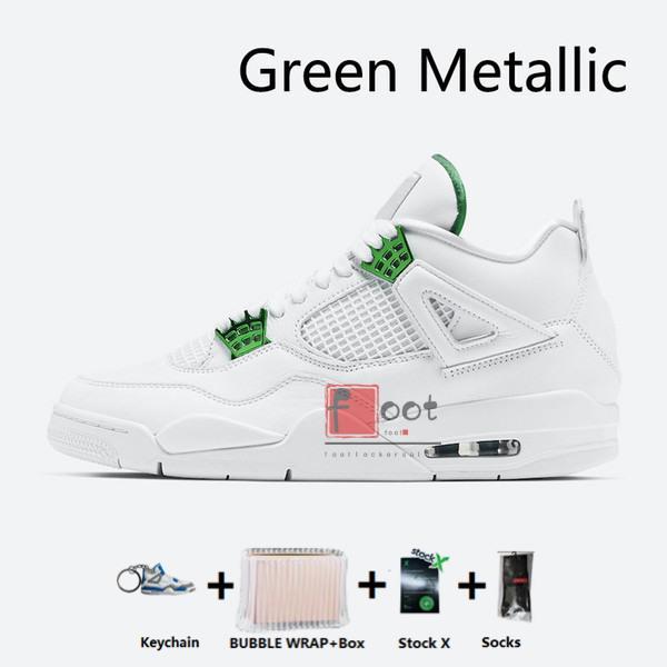 metálico verde