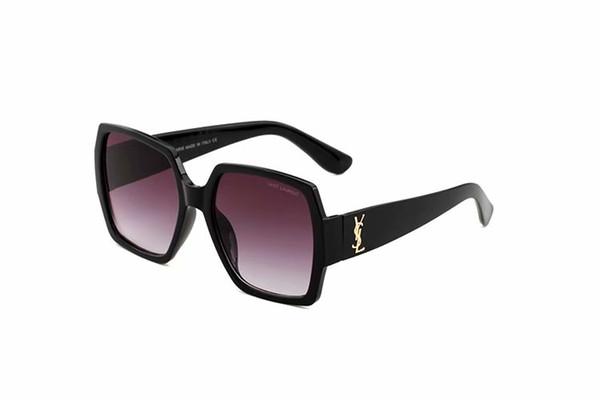 2019 Sunglasses For Men Fashion Brand Design Wrap Sunglass Square Frame UV Protection Lens Carbon Fiber Legs Summer Style Top Quality