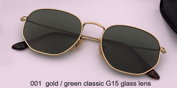 001 الذهب / الأخضر الكلاسيكية عدسة G15