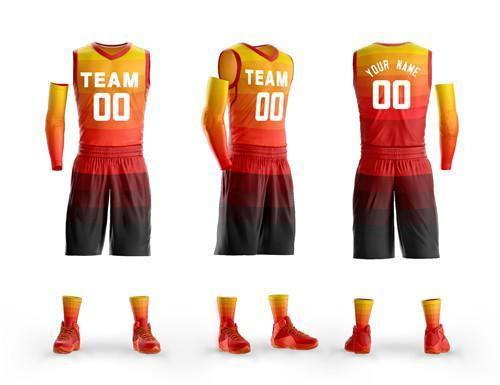Custom basketball jerseys mens kids youth Basketball uniform for college league matches basketball kits quick dry sport sets