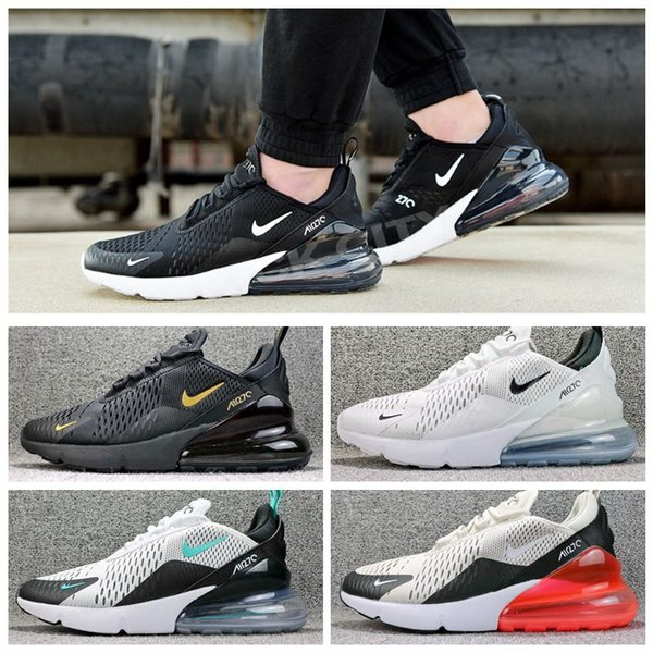 top popular NEW 270 Men Women Running Shoes Trainers Male Sports max Athletic 27c Hot Corss Hiking Jogging Walking air Outdoor Sneakers 2020