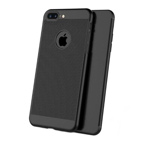 Ultra slim case para iphone 6 s 7 8 plus oco casos de dissipação de calor pc duro para iphone x xr xs max tampa traseira