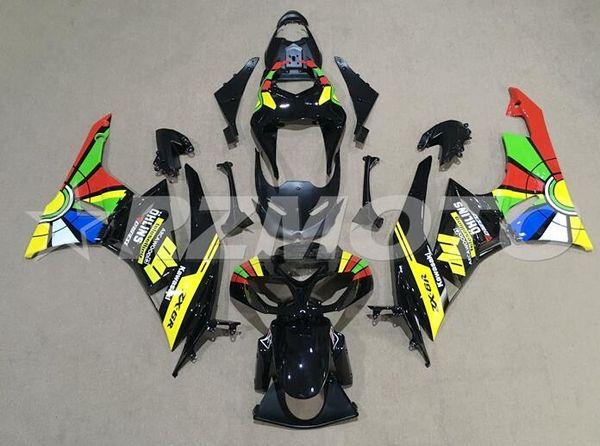 Yeni Motosiklet Abs Kaporta Kiti kawasaki Ninja ZX6R için Fit 636 2009 2010 2011 2012 6R 09 10 11 12 ZX-6R 600CC Kaporta serin gökkuşağı