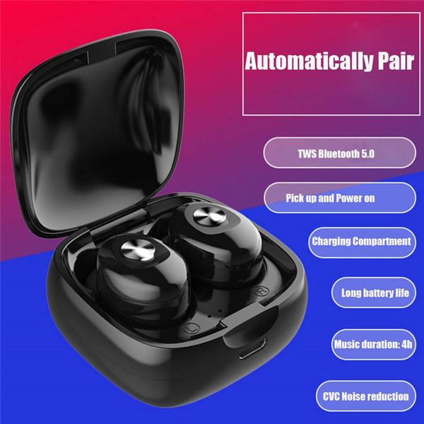 tws inalámbricos bluetooth 5.0 auriculares estéreo mini auriculares auriculares auriculares inalámbricos para teléfonos inteligentes vs samsung Gear IconX Betteer Than I9