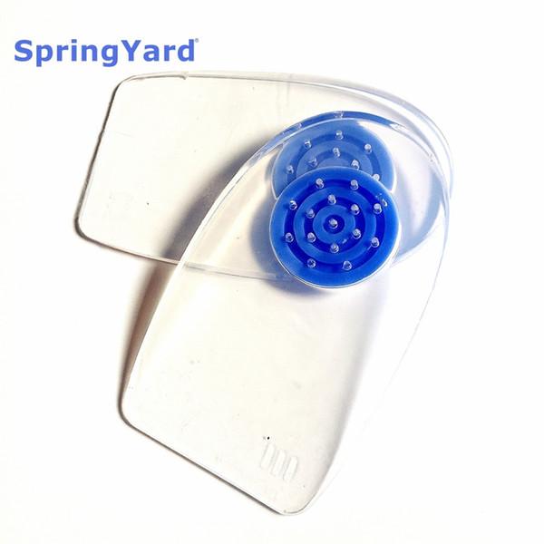 SpringYard (2 пары / лот) 100% Силиконовый гель Подошвенный фасцит Шпилька Шпилька Протектор Подушка Pad Вставка для обуви Стелька для мужчин Женщины