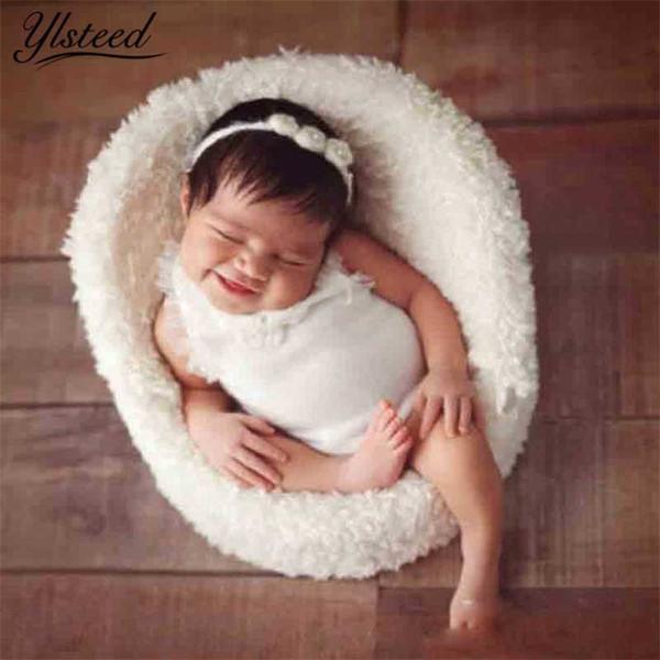 Baby Photography Props Newborn Mini Posing Sofa Chair Photo Shoot Accessories Infant Studio Shooting Props Baby Boy Basket Props J190517