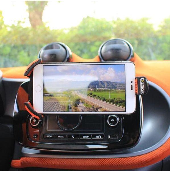 Smart 453 Fortwo Smart 453 Forfour 360-Rotations-Handyhalterung für Kfz-Lüftungsschlitze GPS-Kfz-Handyhalterung
