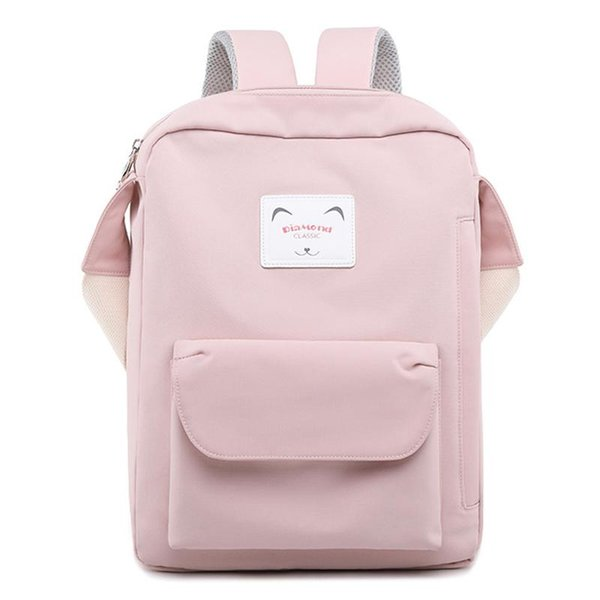 Fashion Casual Nylon Women Backpack High Capacity Lady Daily Shoulder Bags Girls Travel Laptop Bagpack