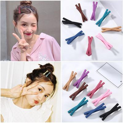 50pcs/lot Candy Color Hairpin Wave Barrette Spiral Side Clip Bobby Pin Hair Pins Hot Hair Accessories Makeup Tools