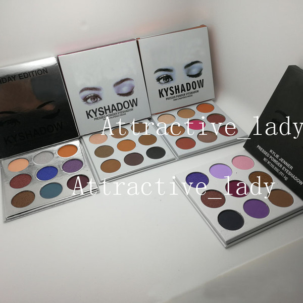 In tock new makeup eye hadow palette 9 fa hion color 5 tyle eye hadow palette dhl hipping