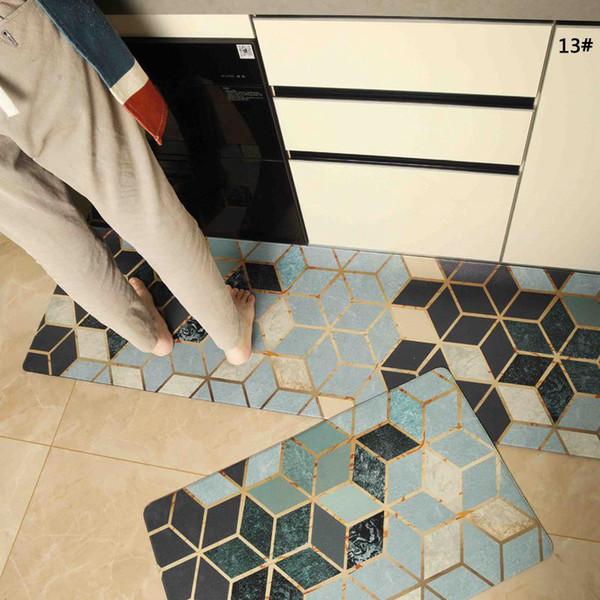 Bagno ingresso tappetino antiscivolo impermeabile 45 * 75 centimetri casa tappeti tappetini in PVC per camera da letto soggiorno tappetini cucina a prova di olio pad BC BH1122