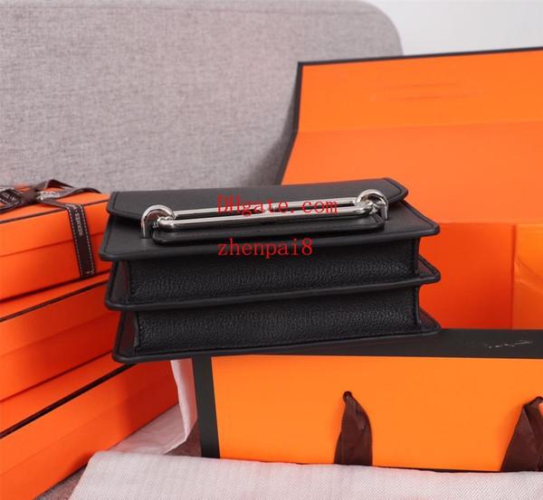 shoulder bags women brand leather chain Letter printing crossbody bag handbag famous trend purse high quality female crossbag M-K17