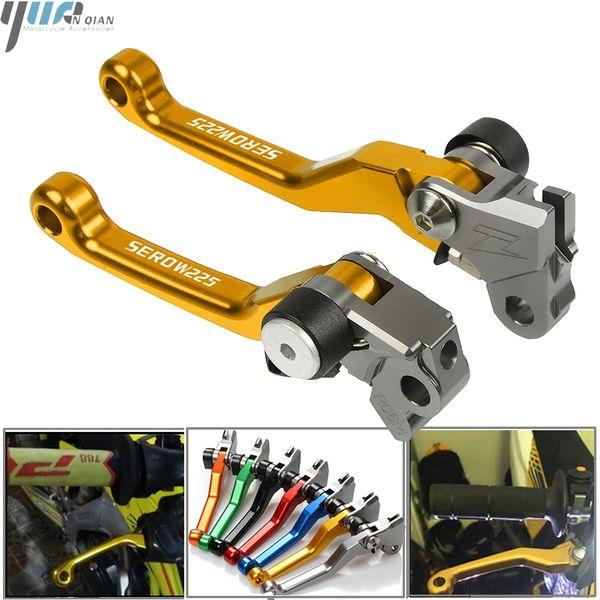 For YAMAHA YZ125//YZ250 1989-1995 CNC Pivot Brake Clutch Levers Set 1990 1991 92