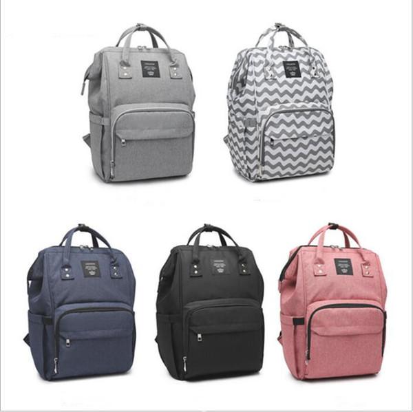 top popular Mummy Diaper Bags Nappies Bags Organizer Maternity Backpacks Desinger Hangbags Fashion Nursing Bag Outdoor Travel Bags Changing Bag B4367 2021