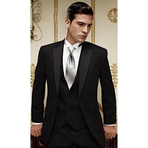 Custom designer mens costumes vêtements hommes smokings marié meilleur homme costume mariage groomsman hommes costumes mariés (veste + pantalon + gilet)