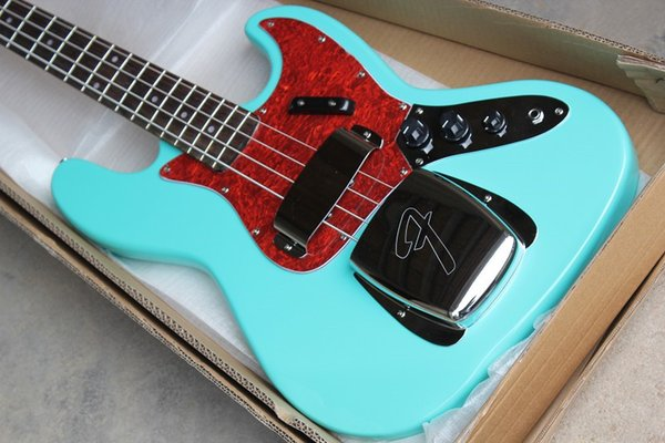 Jazz bass electric bass with upper and lower guard