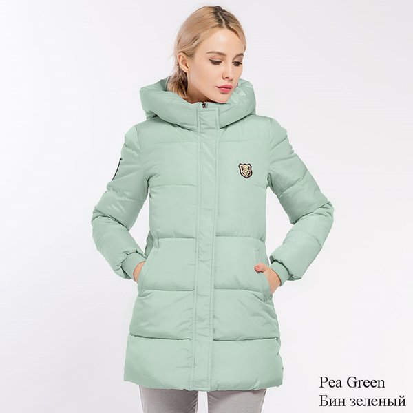 Parkas à capuche Veste basique pour femme Veste hiver ouatinée pour femme Veste matelassée Manteau Crriflz Collection Hiver